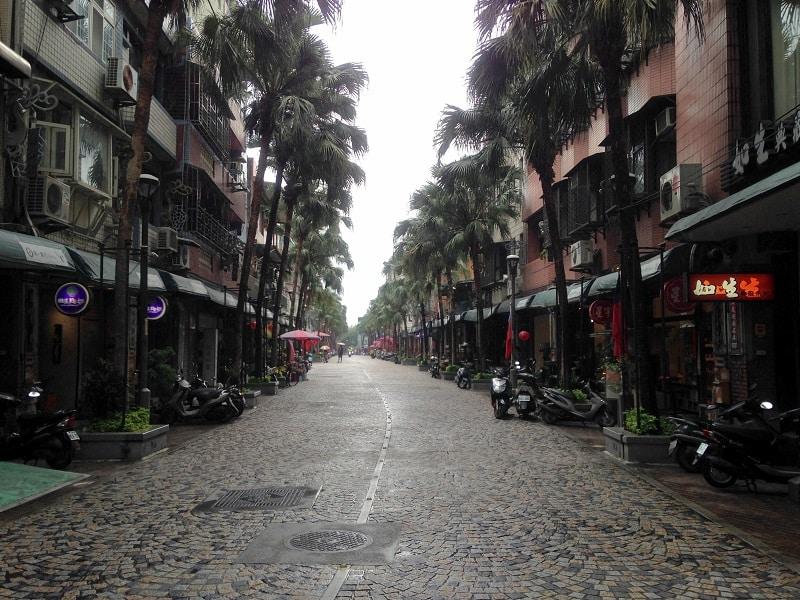 old streets in taiwan yingge