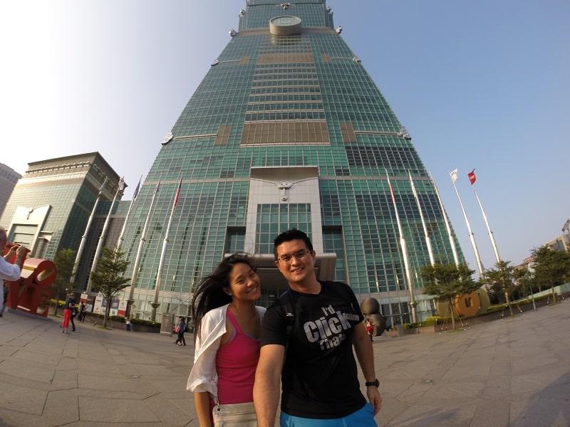 Cost to Travel in Taiwan - Taipei 101