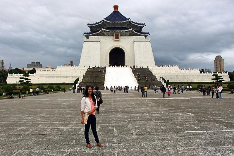 Cost to Travel in Taiwan - chiang kai shek memorial hall