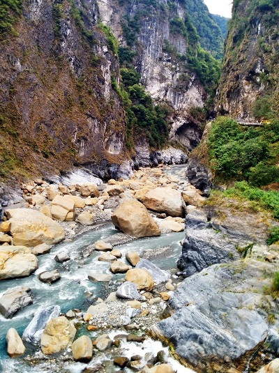 Cost to Travel in Taiwan - taroko national park