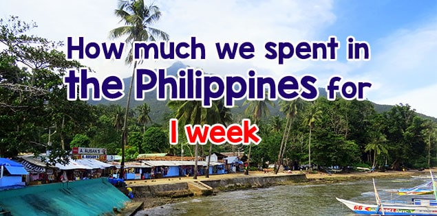 cost to travel in the philippines - breakdown of how much we spent on hotels, tours, food, souvenirs, transportation and more in Puerto Princesa and El Nido