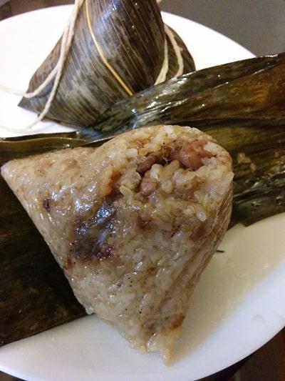 best taiwanese food zongzi
