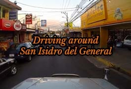 driving around san isidro del general