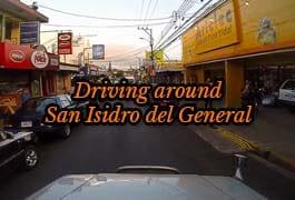driving around san isidro del general