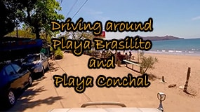 driving to conchal from brasilito featured