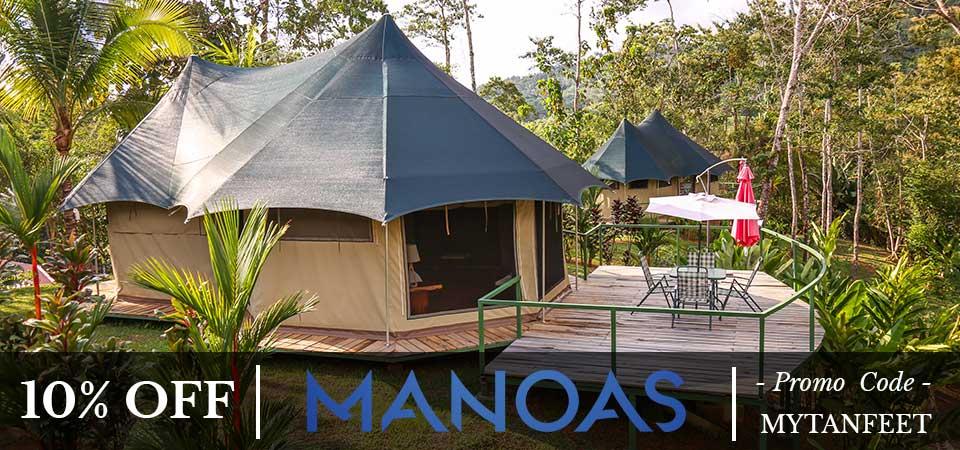 Costa Rica discount: Manoas Luxury Camping and Villas Uvita special discount