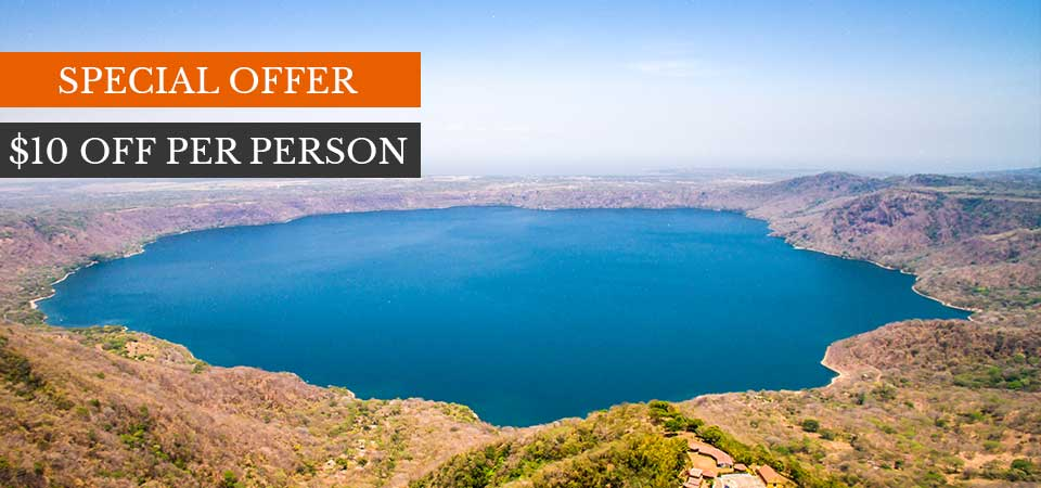 Costa Rica discounts: Get 10 Dollars OFF of The Nicaragua one day tour discount