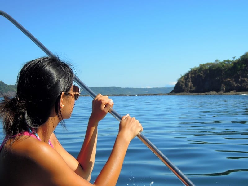adventure activities in costa rica - boating gulf