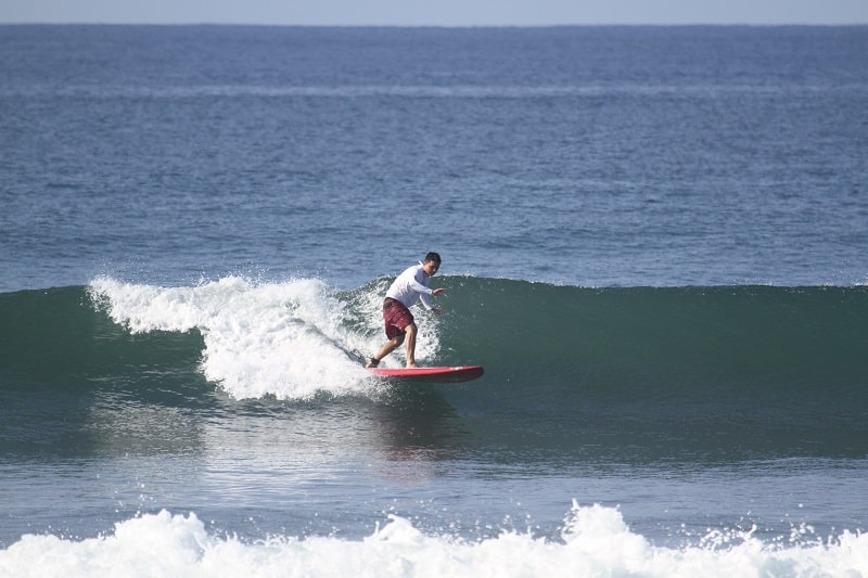 adventure activities in costa rica - surfing