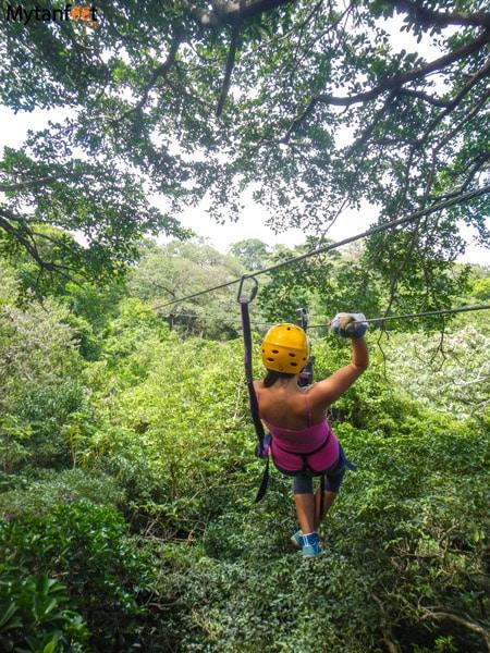 adventure activities in costa rica - ziplining