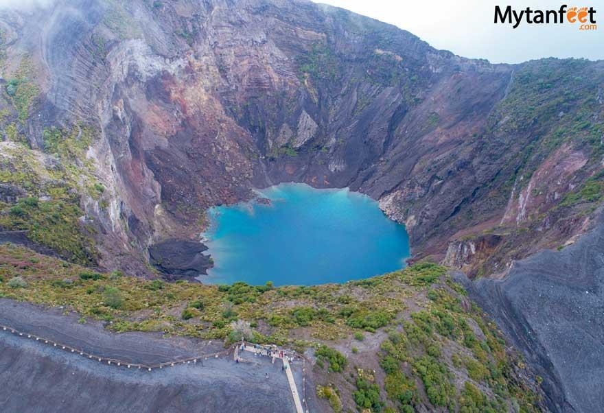 Irazu Volcano National Park main crater