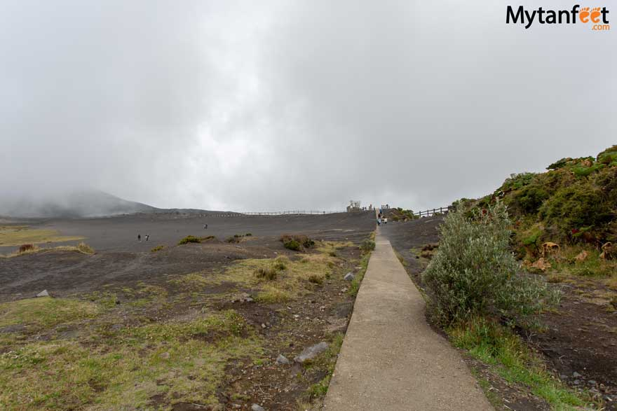 Irazu Volcano National Park trail