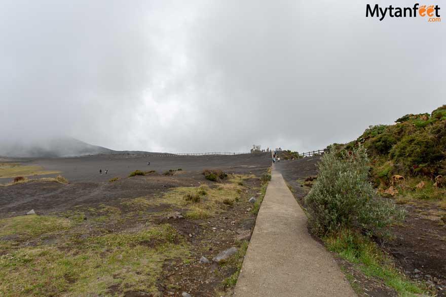 Irazu Volcano National Park trail