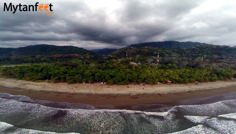 Playa Dominical Costa Rica beach