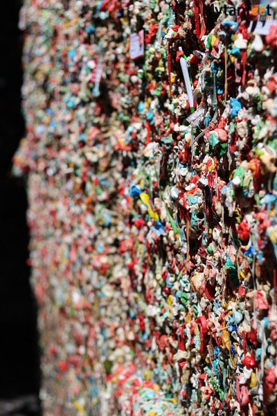 Things to do in Seattle - Gum wall