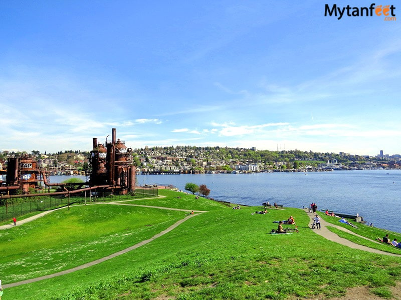 Things to do in Seattle - visit Gasworks Park