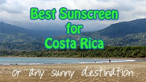 best sunscreen for costa rica featured