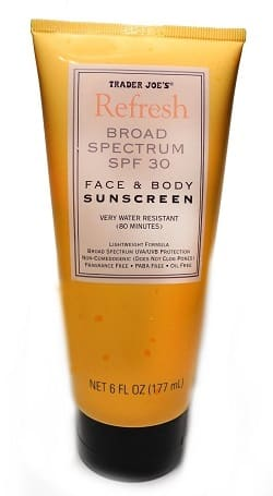 best sunscreen for costa rica trader joes spf 30