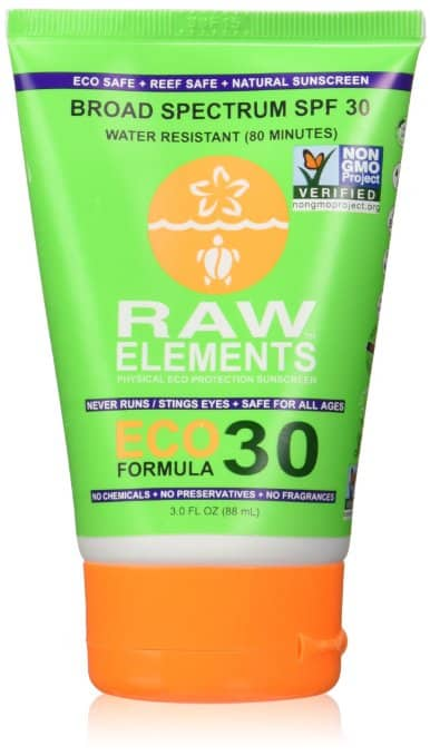 costa rica sunscreen - raw elements