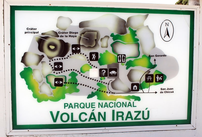 irazu volcano national park in costa rica