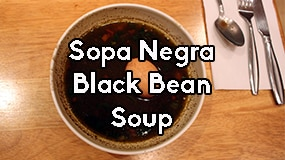 sopa negra costa rican black bean soup recipe featured
