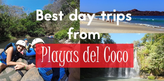 the best day trips from playas del coco featured