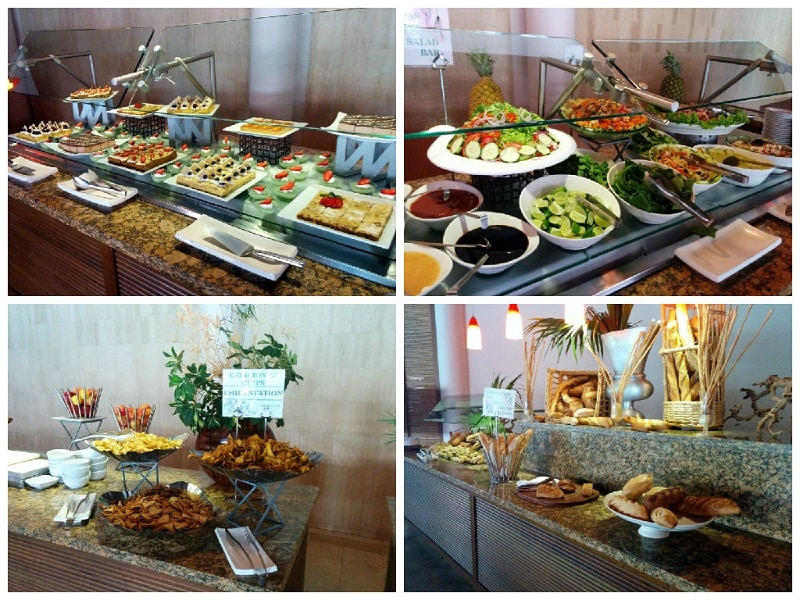 westin golf resort and spa in Playa conchal buffet mitra
