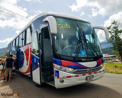 Upala bus from Liberia