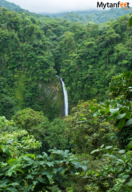 La Fortuna Waterfall viewpoint