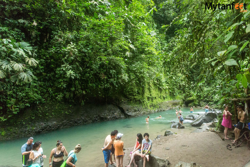 La Fortuna waterfall pool