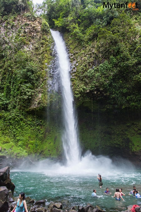 La Fortuna waterfall in Arenal