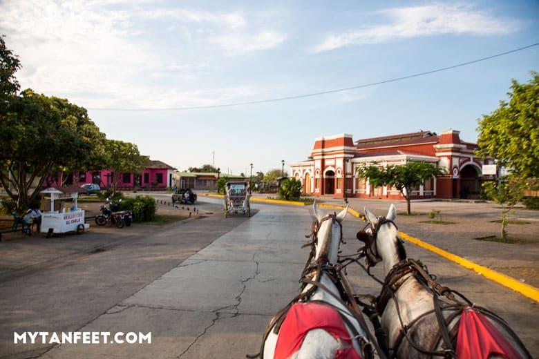 Nicaragua tour from Costa Rica - Granada horse carriage ride