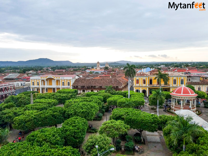 nicaragua day tour from Costa Rica - Granada view