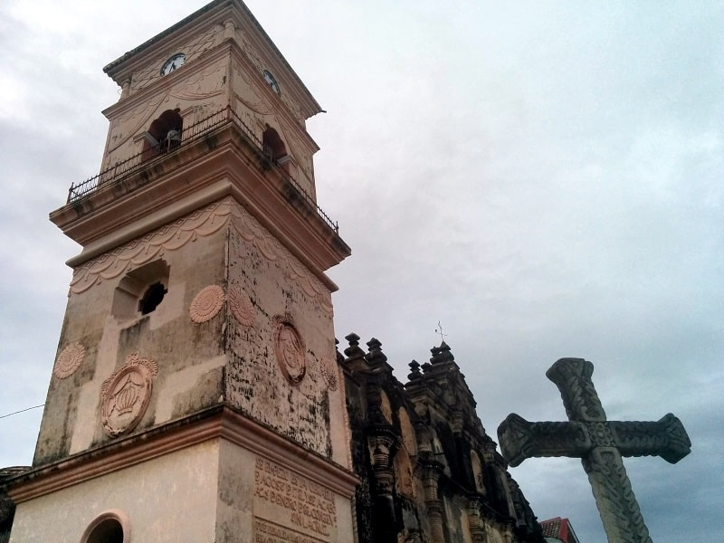 nicaragua tour from costa rica granada church