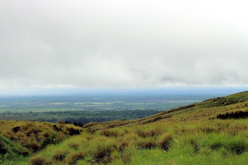 nicaragua tour from costa rica masaya volcano view