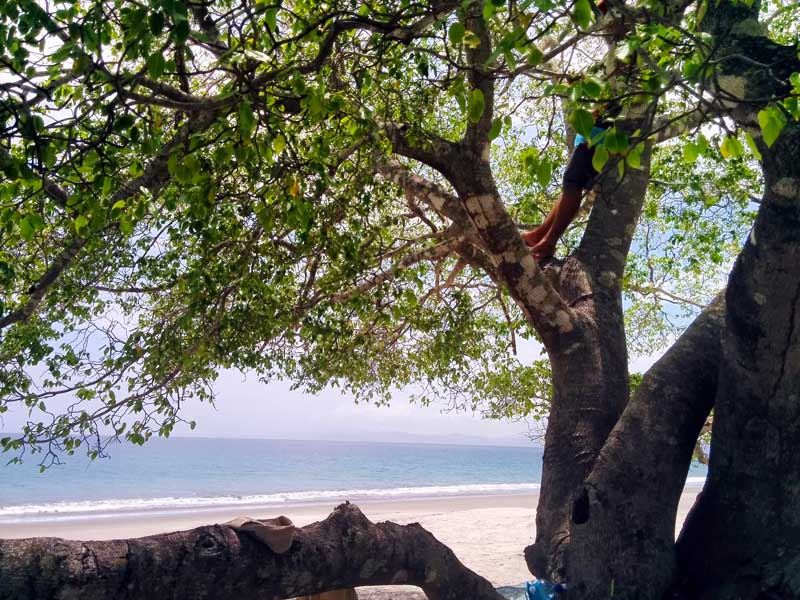 Playa Cabuyal in Guanacaste - a lesser known beach with white sand and bright blue waters