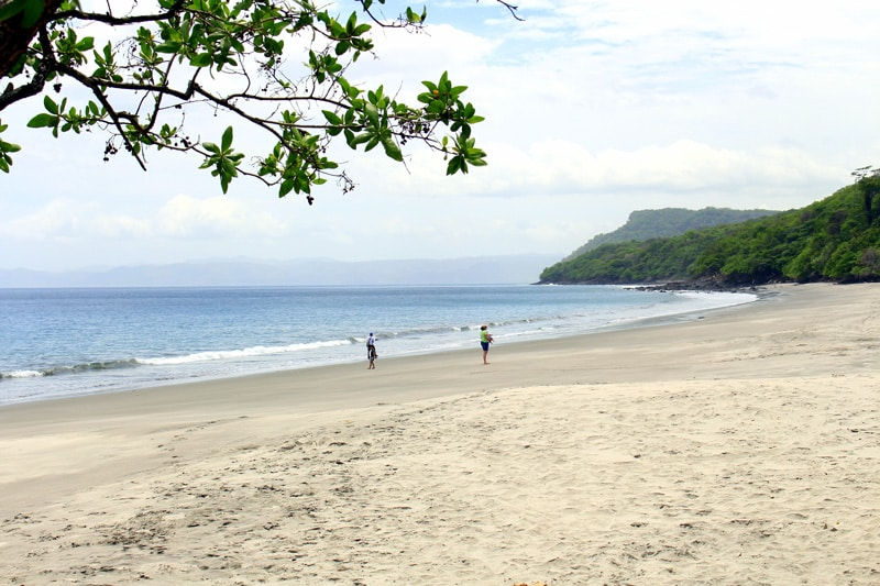 playa cabuyal in guanacaste