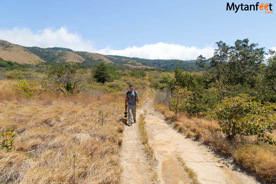 Costa RIca weather - hiking in dry season