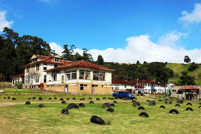 Finca Sanatorio Duran outside most haunted building in costa rica