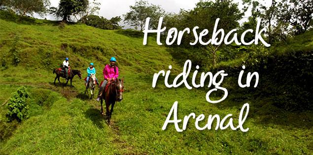 horseback riding in arenal