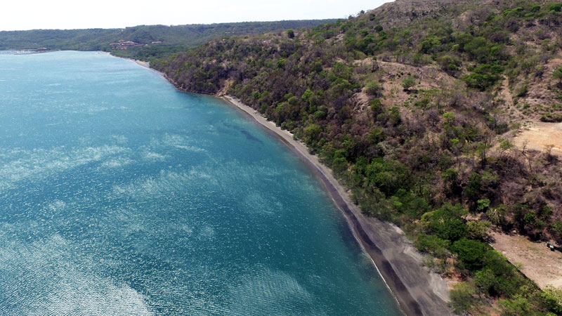 playa-iguanita-in-guanacaste-aerial-view