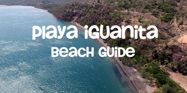 playa iguanita in guanacaste featured