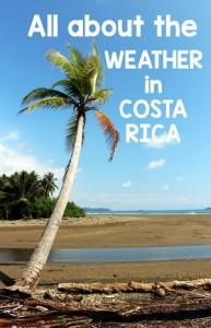 weather in costa rica
