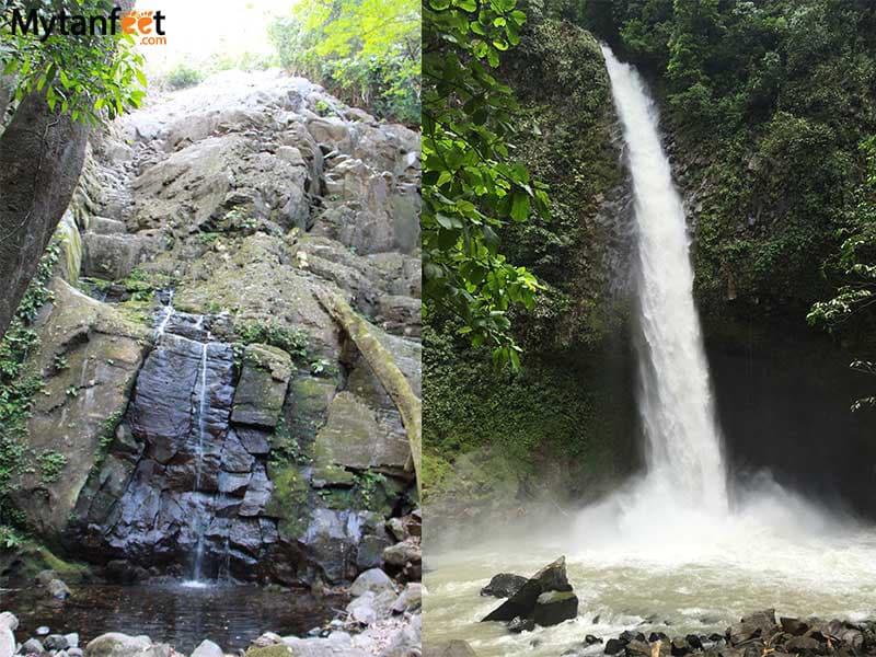 costa rica in rainy season - waterfalls
