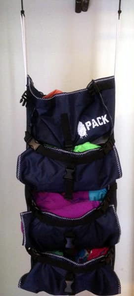 the Pack backpack organizer full