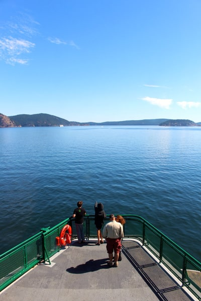 things to do on orcas island ferry to other islands