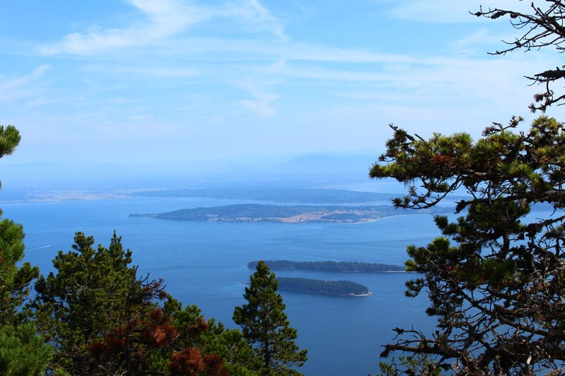 things to do on orcas island mount constitution