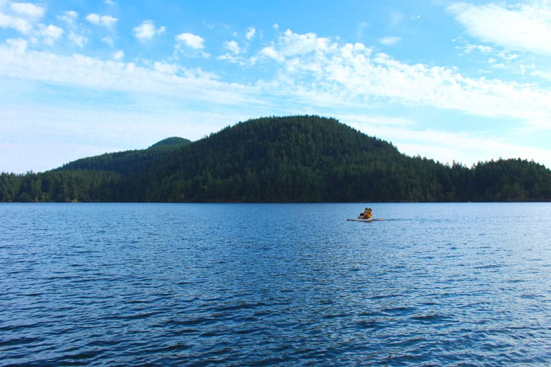 things to do on orcas island paddle boat