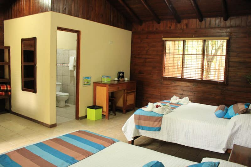 cost of traveling in Costa Rica - standard lodge