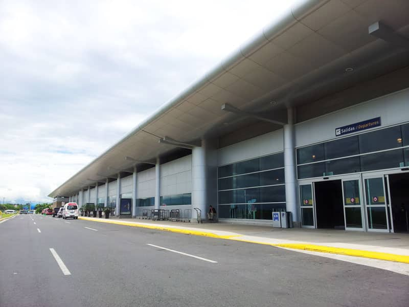 cost of traveling in Costa Rica - Liberia International Airport